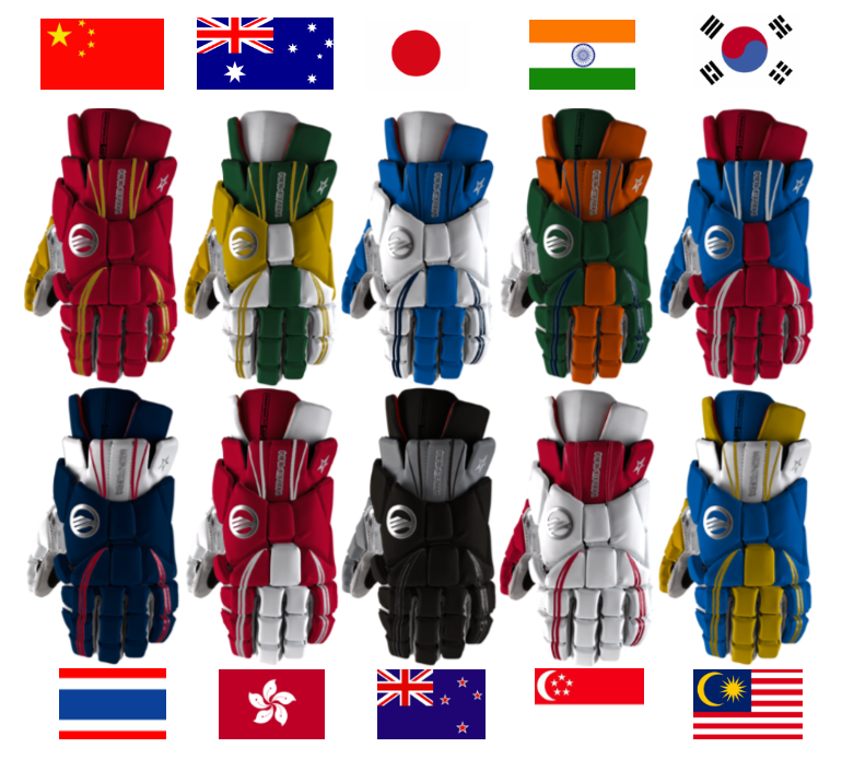 Maverik Lacrosse Asia Gloves