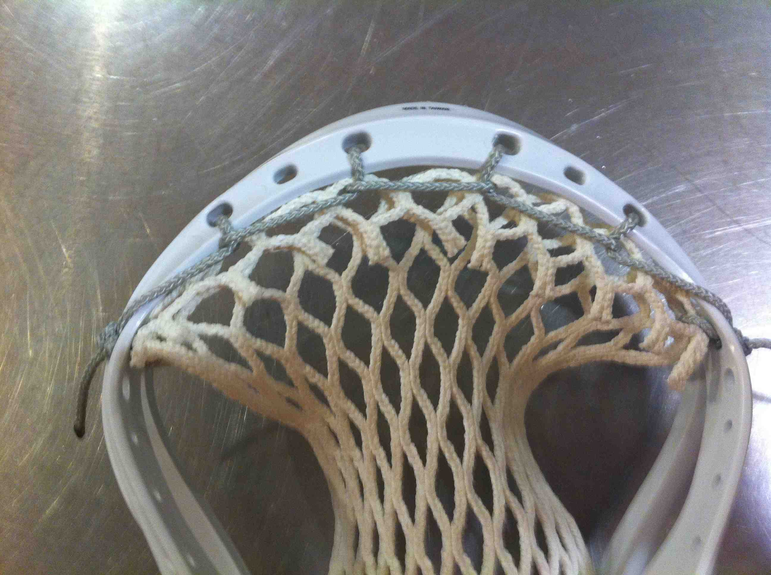 Stringing instructions Supplies lacrosse lax