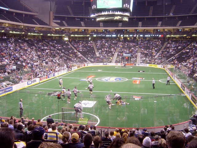 nll box lacrosse lax boxla game
