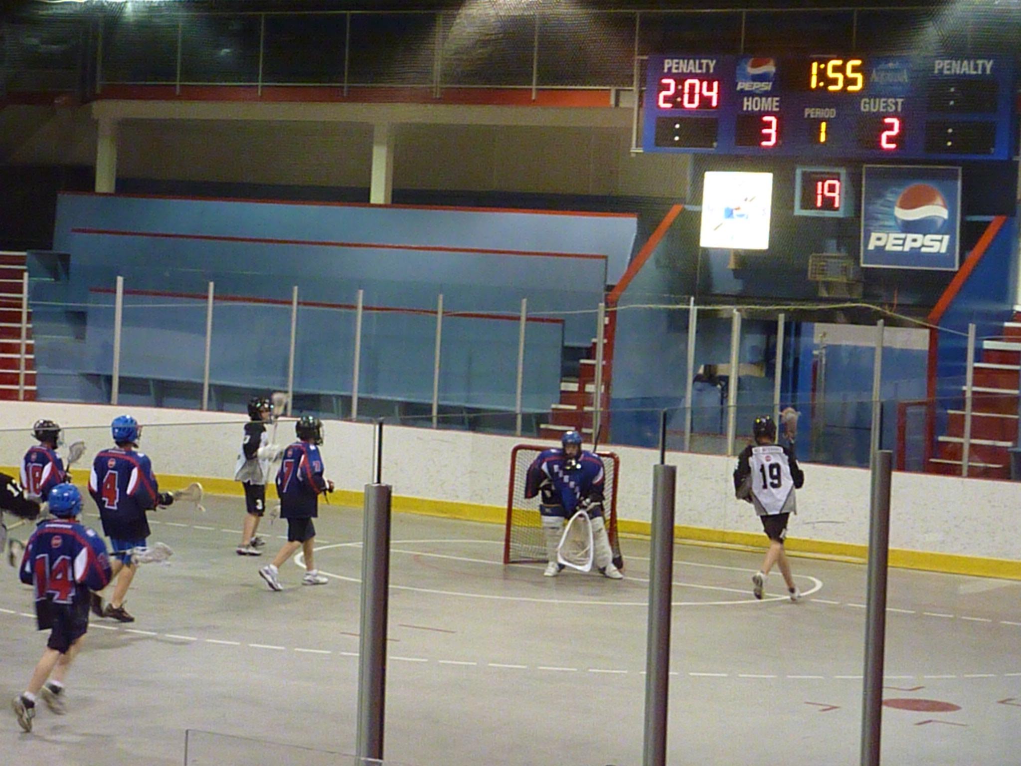 Kelowna Bantam lacrosse game!