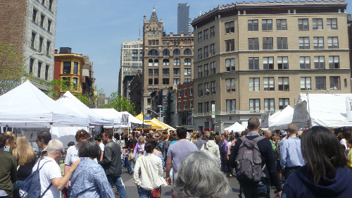 union square famers market Guide To NYCs Summer Streets