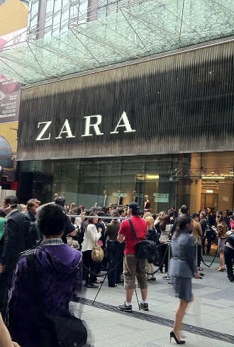 Zara Announces Second Sydney Store in Bondi Junction