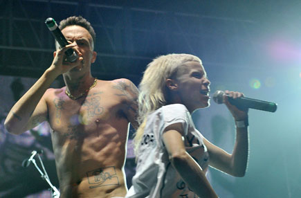 dieantwoord435 Whats In A Name? 10 Lollapalooza Band Names Explained