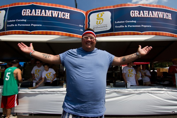 Lollapalooza: Cooking For The Bands And The Masses With Graham Elliot