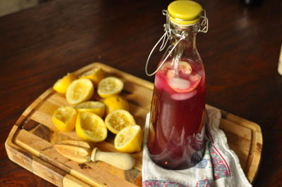 Blueberry Jam Lemonade Recipe