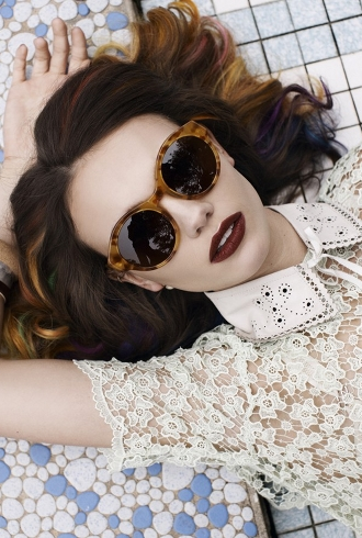 Emily Jean Bester Plays the Crazy Housewife for Elke Krammer's First Eyewear Collection