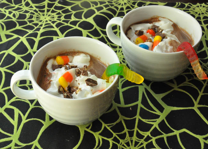 Melted Candy Bar Hot Chocolate Recipe