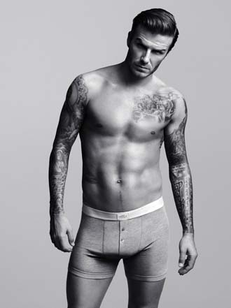 H&M Strips Down and Erects a Life-Size David Beckham