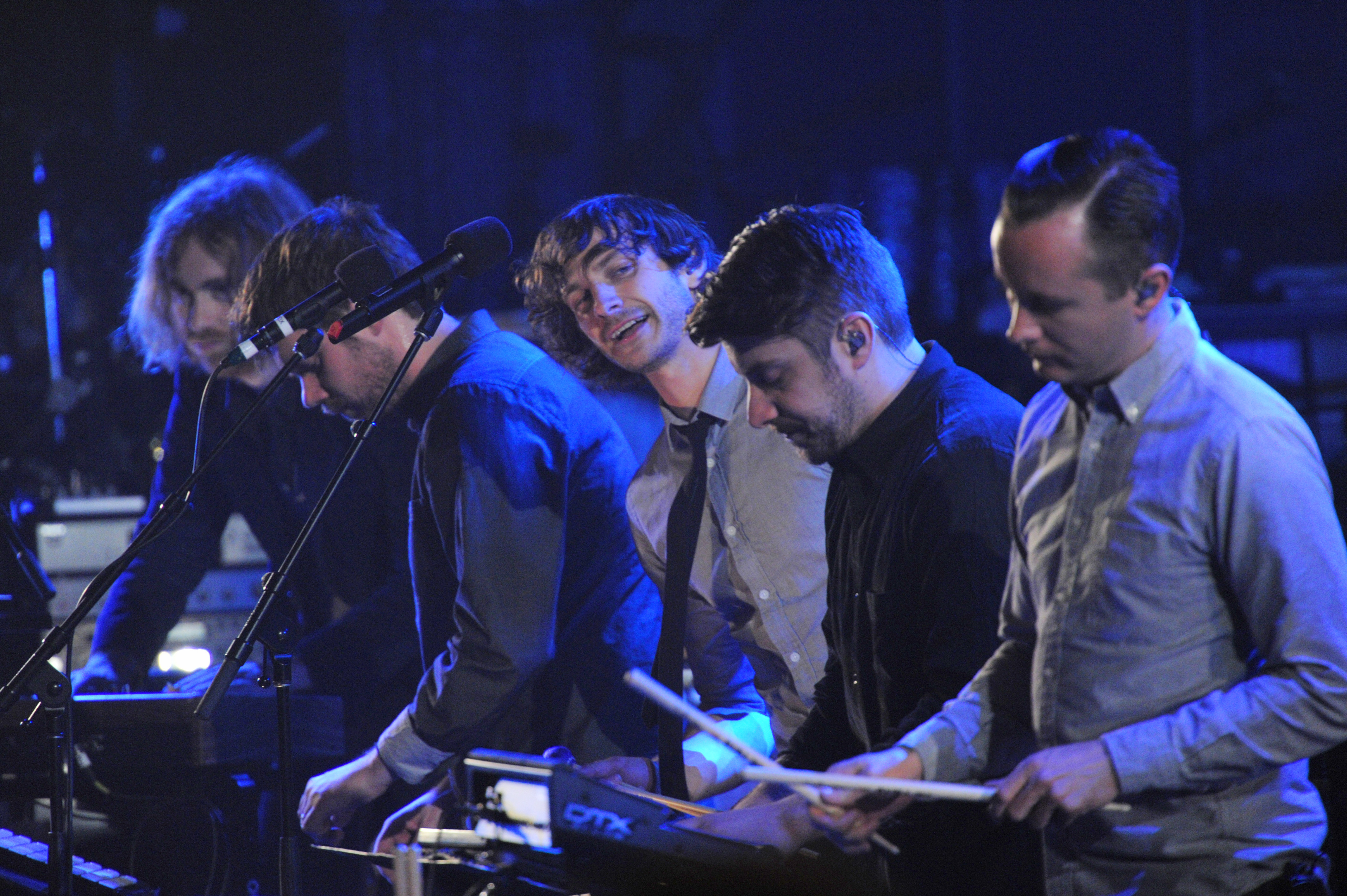 gotye drummers Gotye Mesmerizes Live On Letterman Audience With Powerful Set