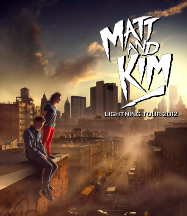 lightning tour 2012 Matt &amp; Kim Stream New Album Lightning In Its Entire   Listen Now