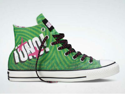 capture Green Day Partners With Converse For ¡UNO! All Star Sneakers & Free Live Download Of Oh Love