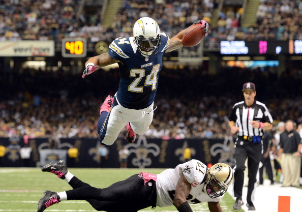 ryan mathews Saints, Officials Top Chargers 31 24