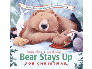 BearStaysUp Great Books For Kids This Holiday Season