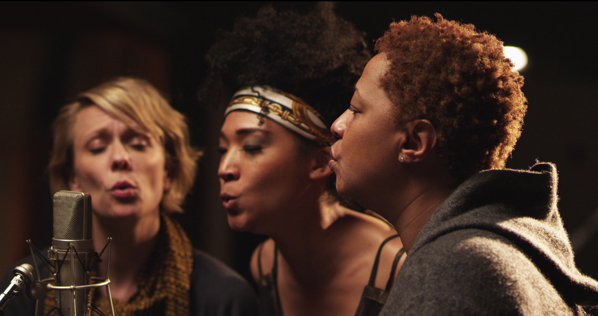 o Lawry  Judith Hill and Lisa Fischer in TWENTY FEET FROM STARDOM courtesy of RADiUS TWC 20 Feet From Stardom: Behind the Documentary about Legendary Backing Singers