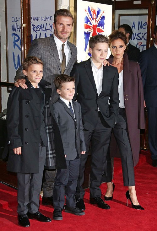 The Beckhams Are Back to Take Over London!