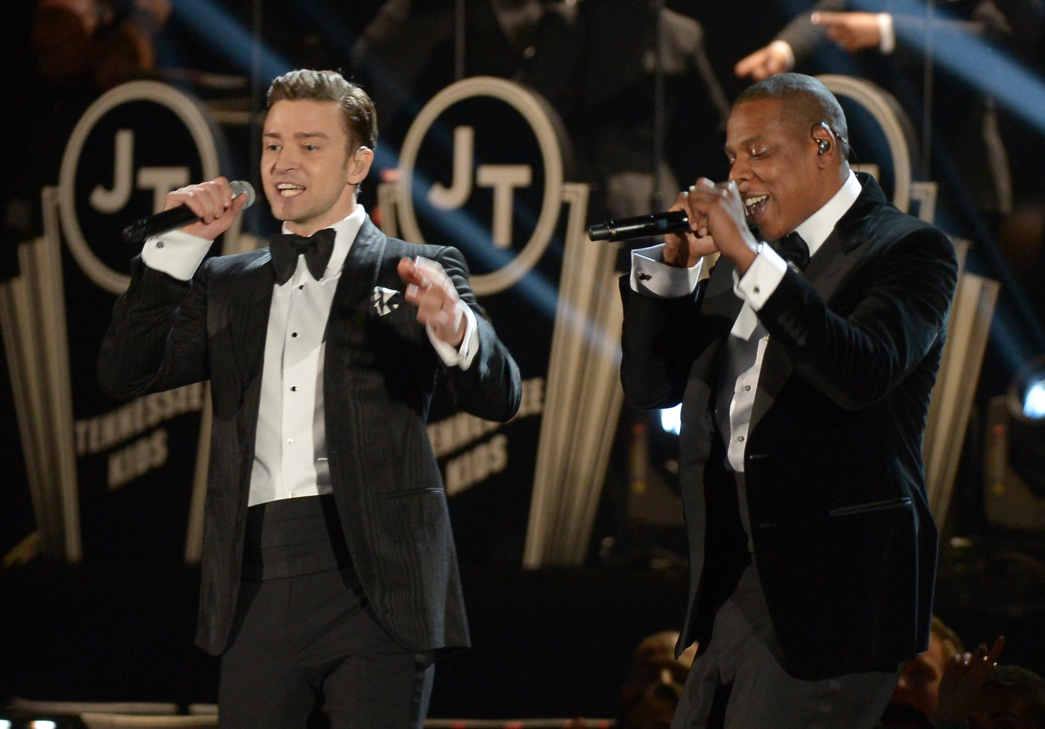 Justin Timberlake and Jay Z Justin Timberlake Debuts New Song, Classic Look