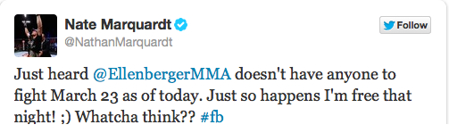 Rory MacDonald Injury Foces UFC 158 Changes