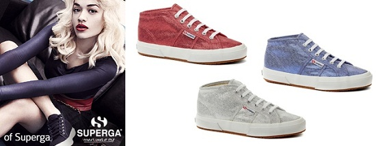 Rita Ora Fronts Superga's New Campaign
