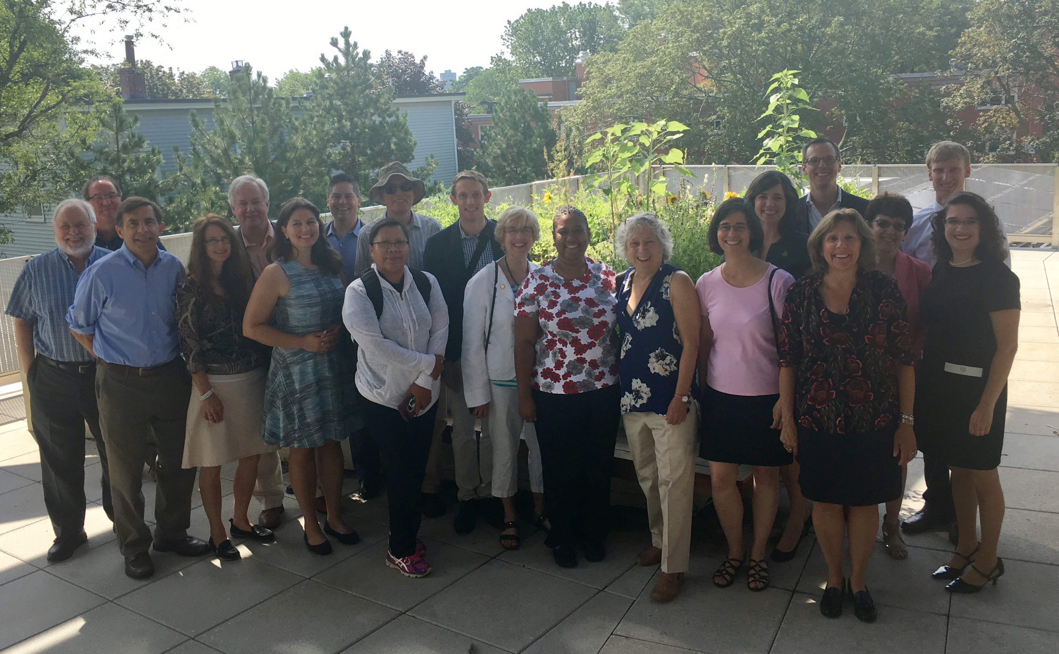 National Caucus of Environmental Legislators tour Boston school