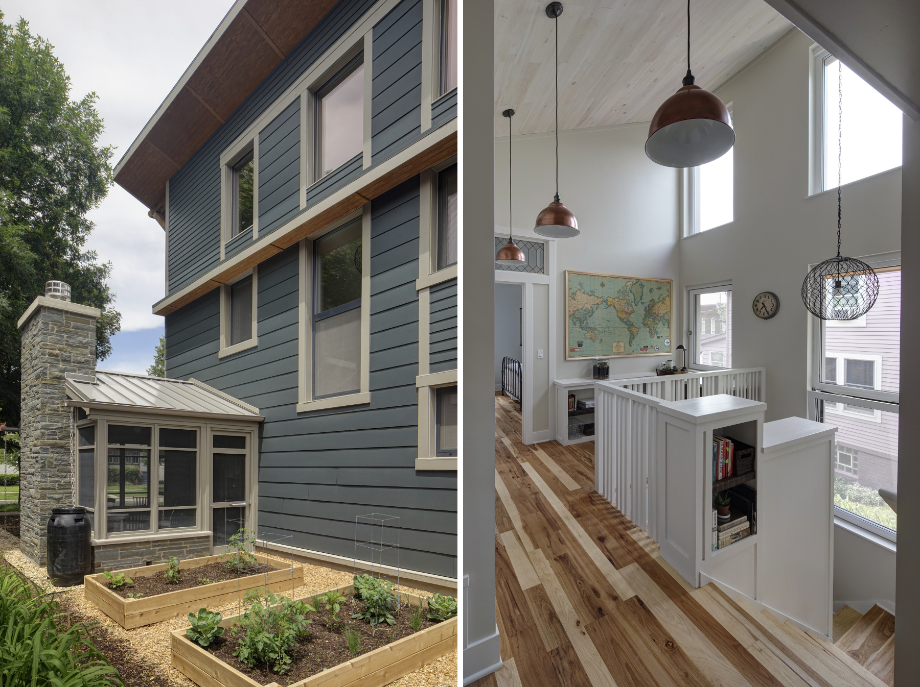 LEED Platinum Right Sized Family Home
