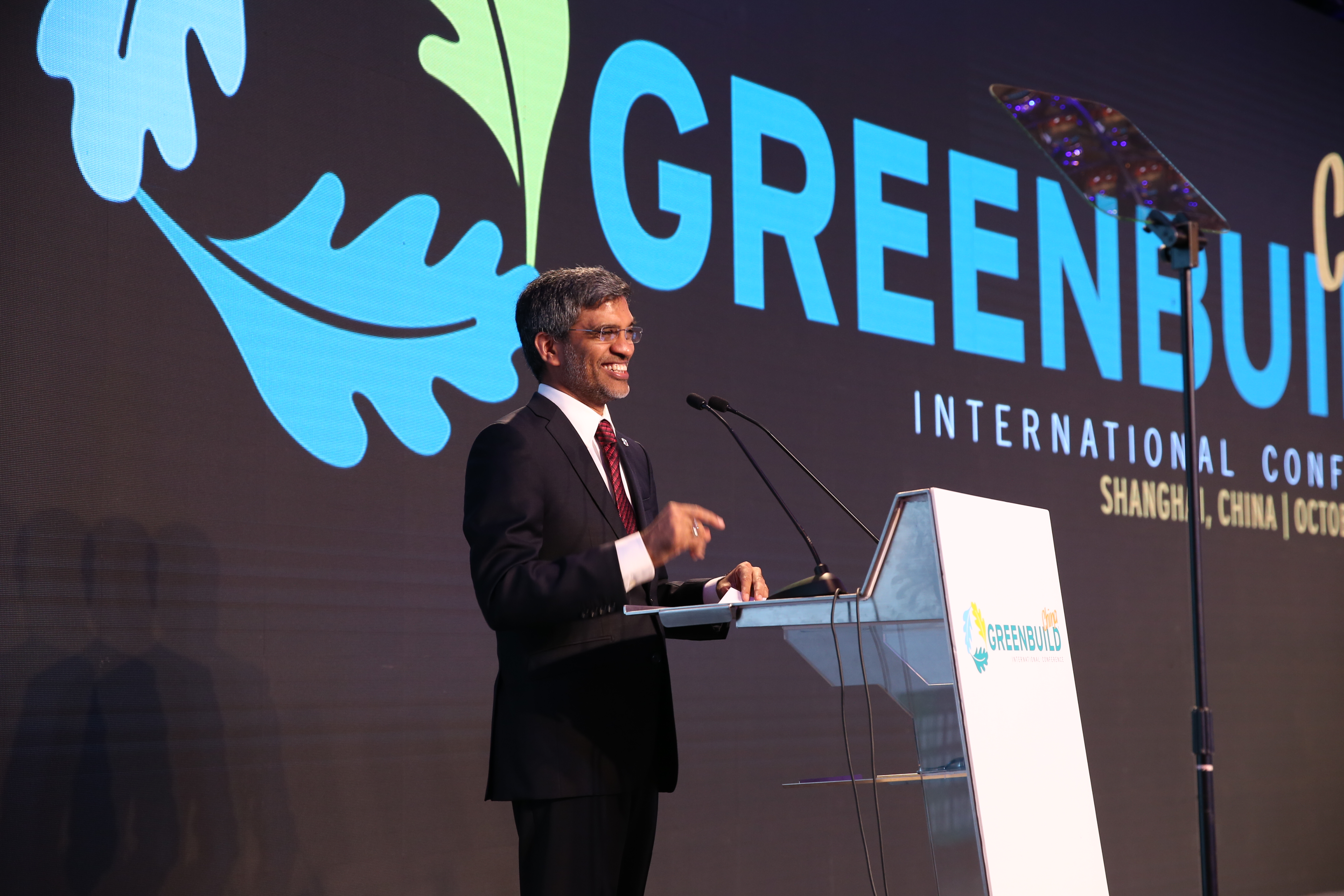 Mahesh Ramanujam at Greenbuild China