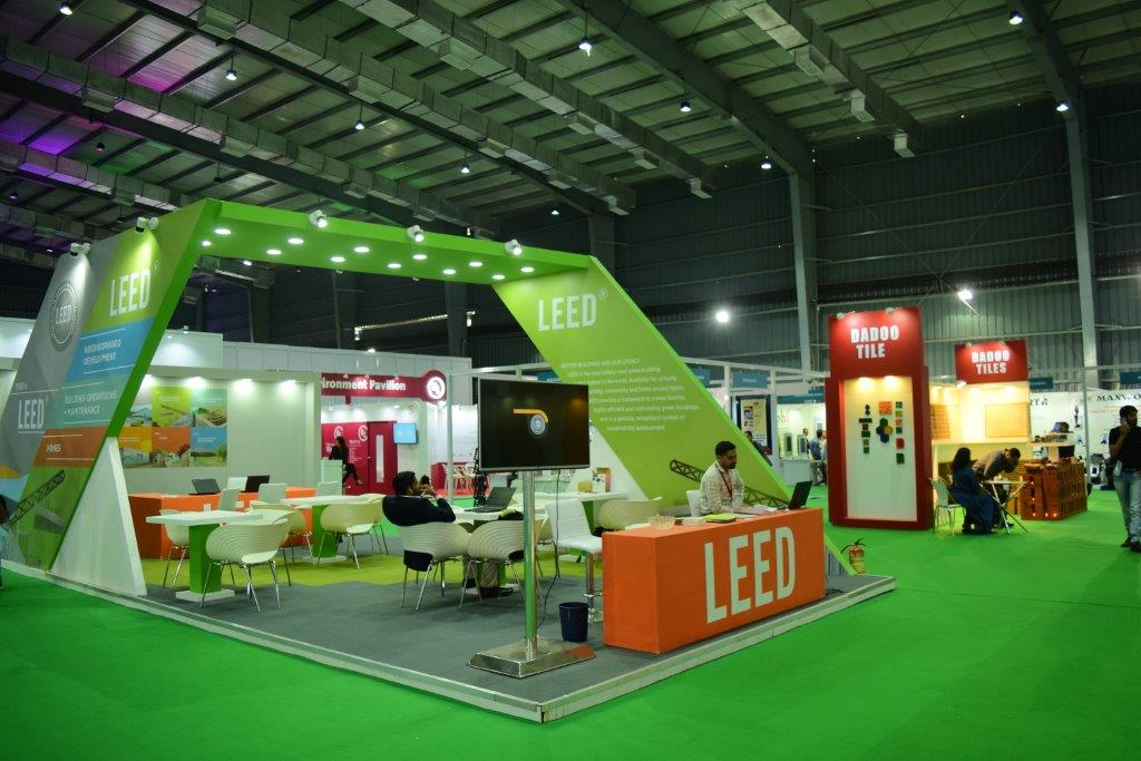 USGBC booth at Greenbuild India