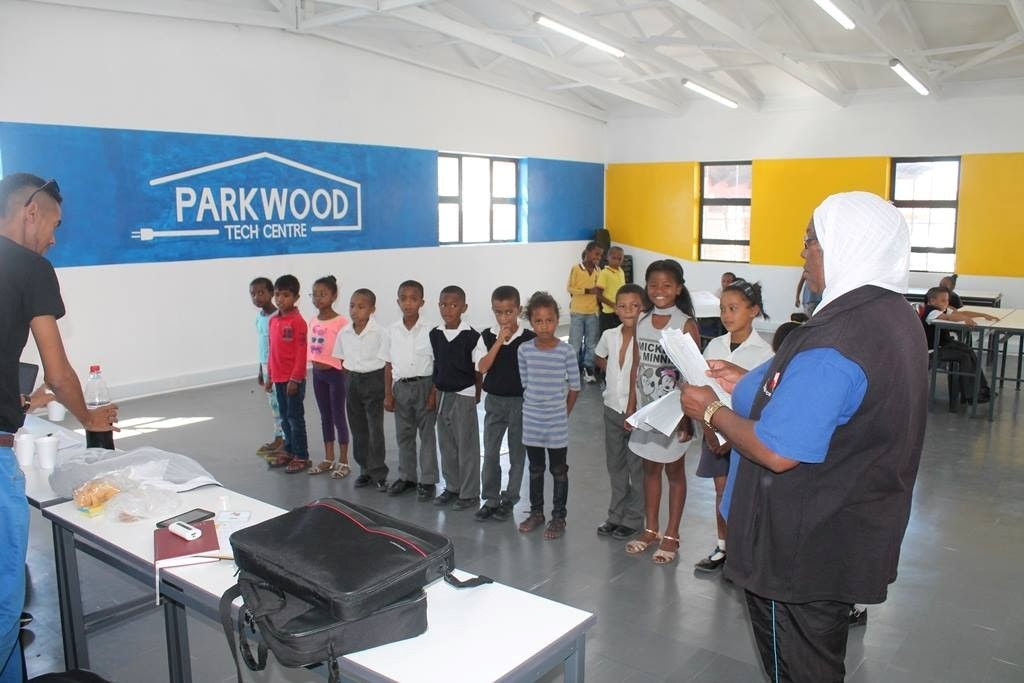 Students at Parkwood Tech Centre