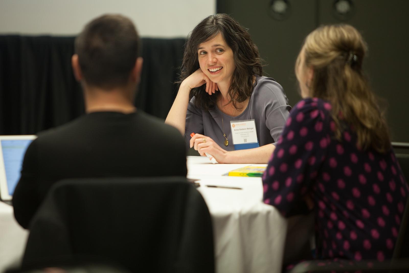 Anisa Heming at Green Schools Conference