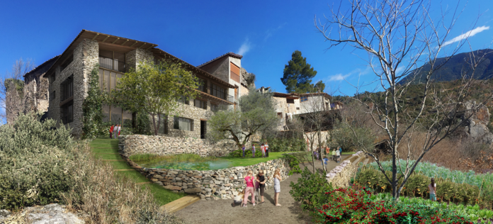 The Cal Guerxo project in Catalonia, Spain, is seeking LEED Platinum certification