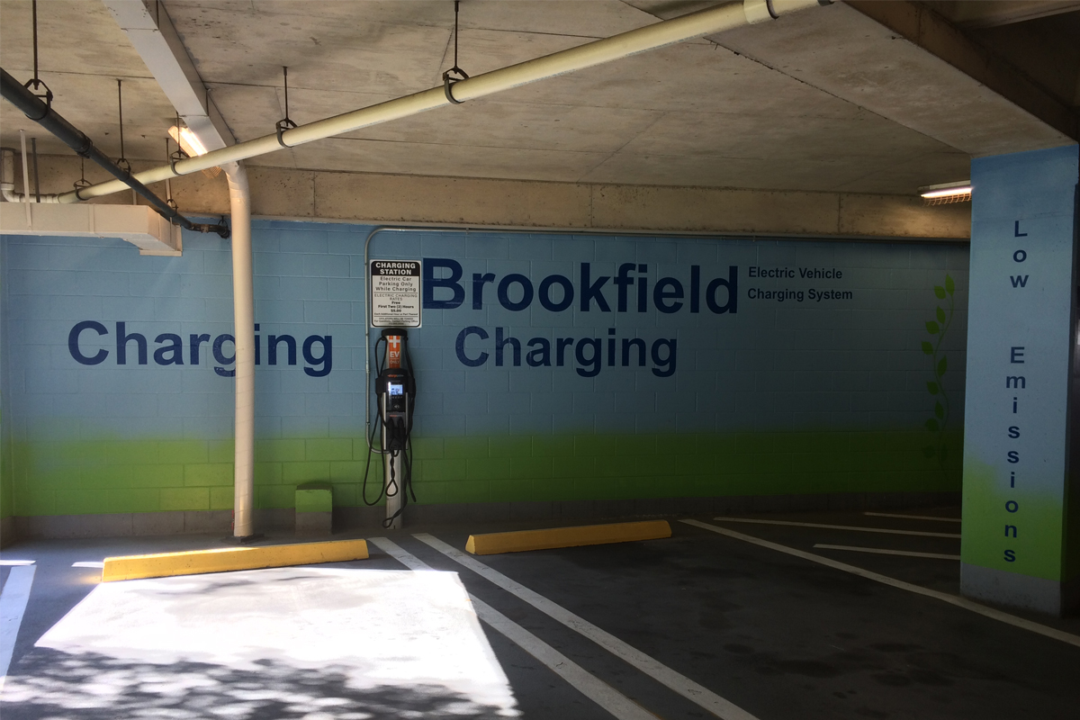 1600 Smith Garage is Parksmart-certified and has EV charging stations