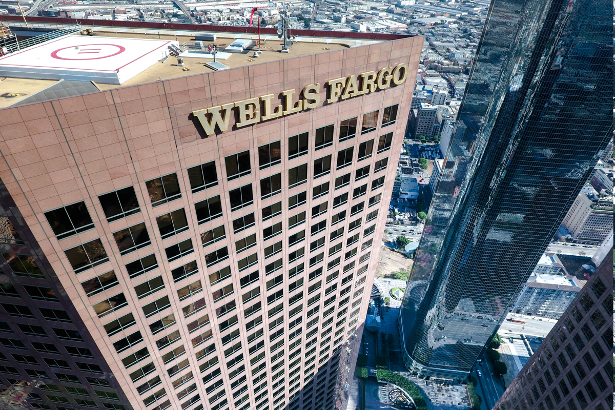 Wells Fargo Center is Parksmart-certified and has EV charging stations