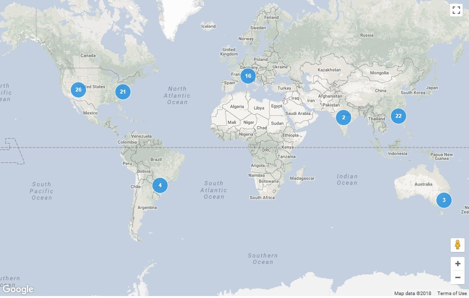 LEED data centers worldwide
