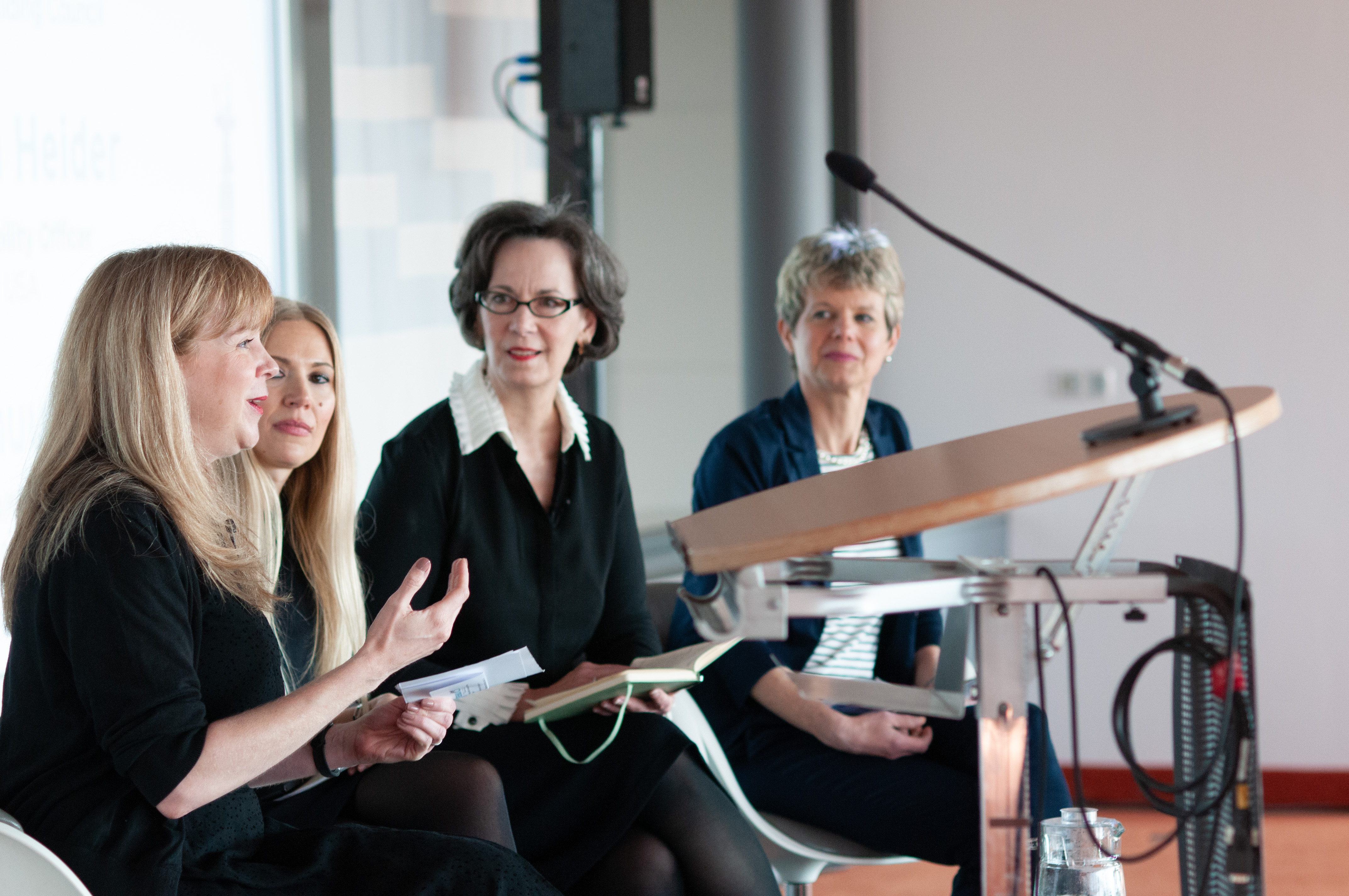 Women in Green speakers at Greenbuild Europe