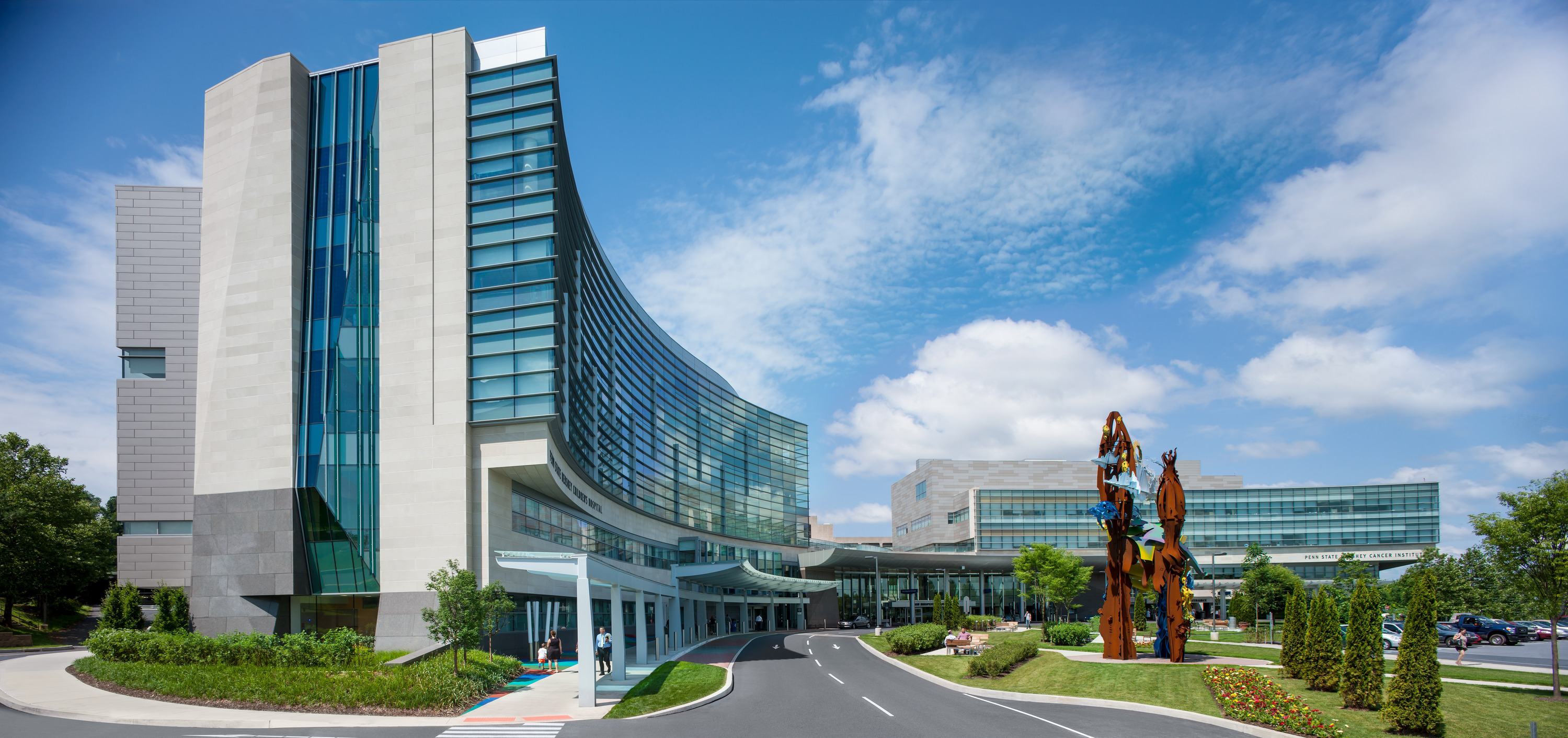 LEED-certified Penn State Hershey Cancer Institute