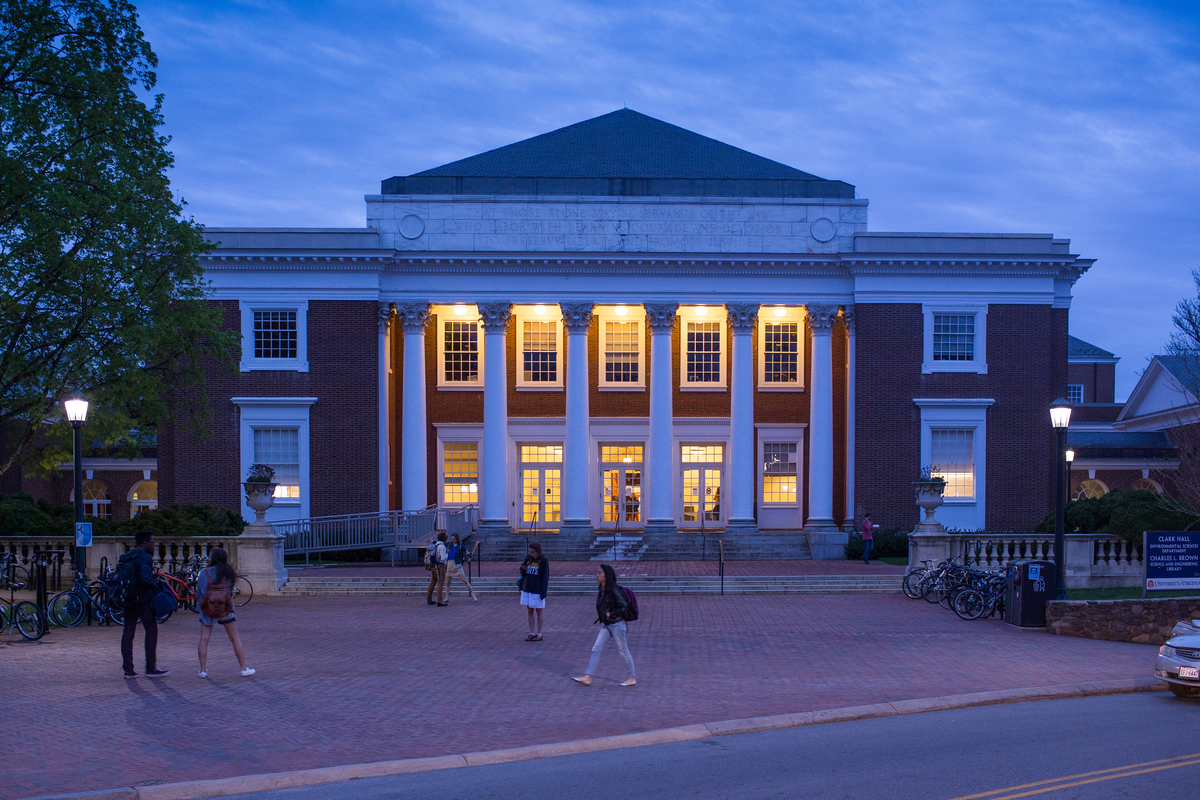Clark Hall at UVA is LEED Silver