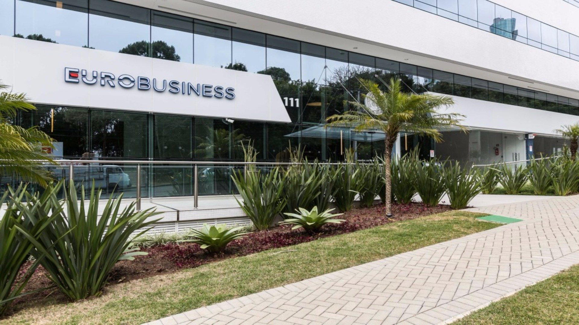 The LEED Platinum, LEED Zero Water Eurobusiness building