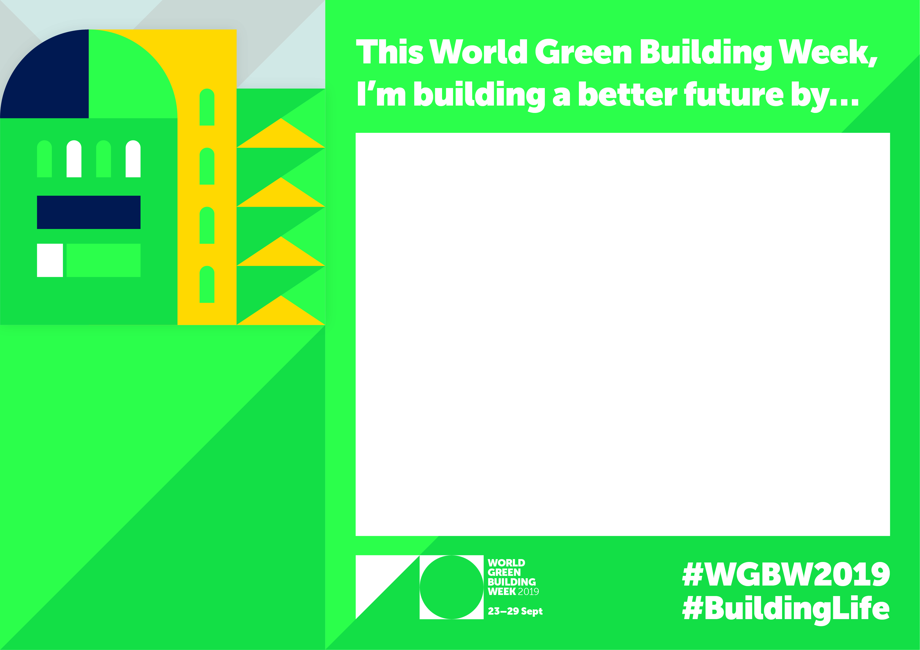 Take the My BuildingLife pledge for World Green Building Week