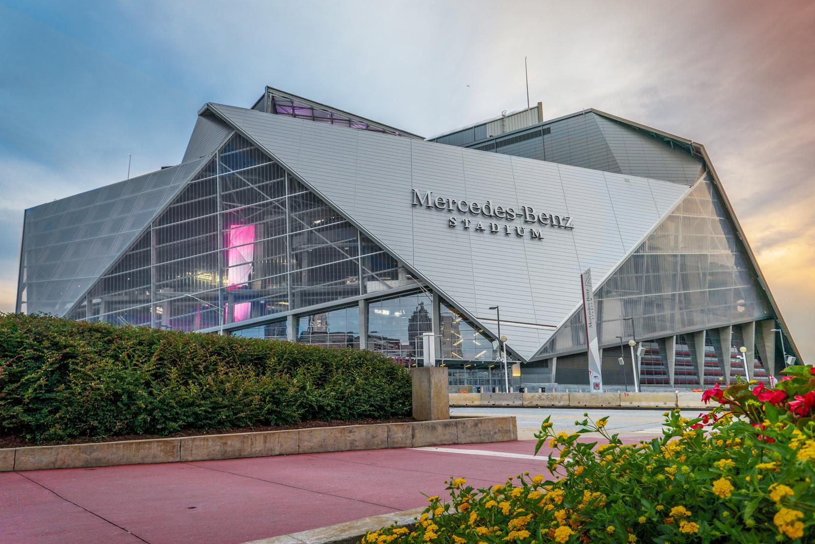 the LEED Platinum Mercedes-Benz Stadium