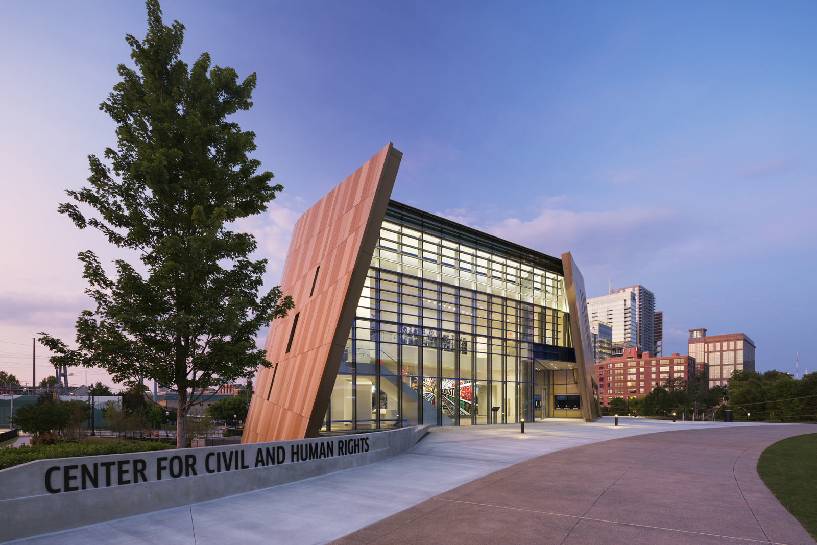 the LEED Gold National Center for Civil and Human Rights