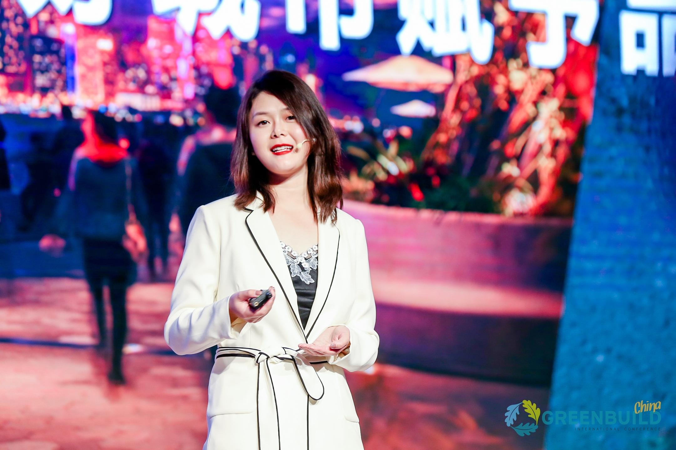 Jing Wang at Greenbuild China 2019