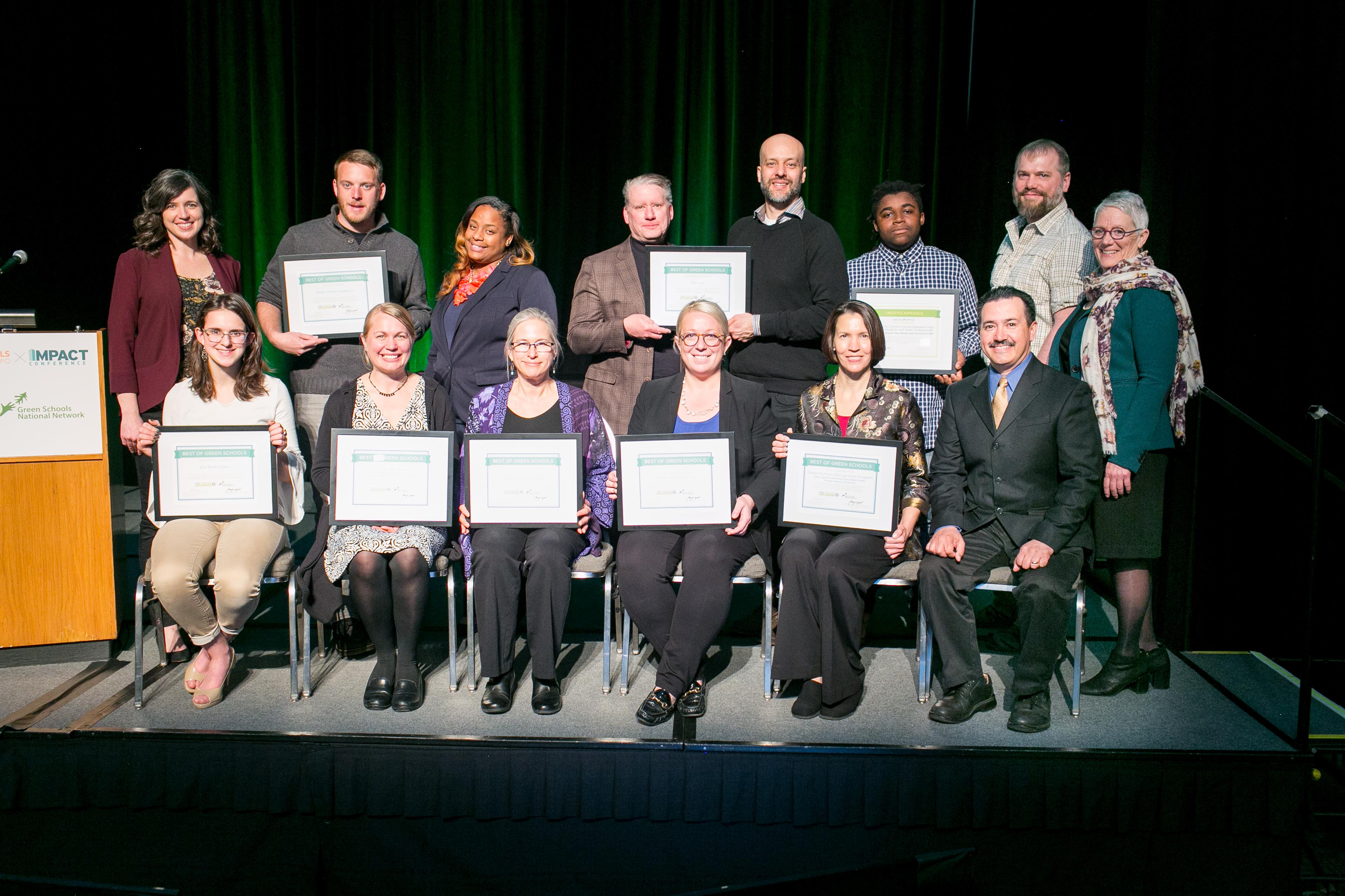 2019 Best of Green Schools awards