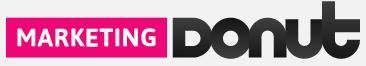 marketing donut logo