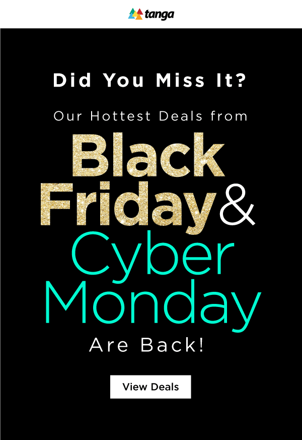 Extending Black Friday and Cyber monday deals