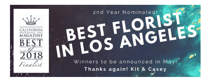 best florist in Los Angeles nomination