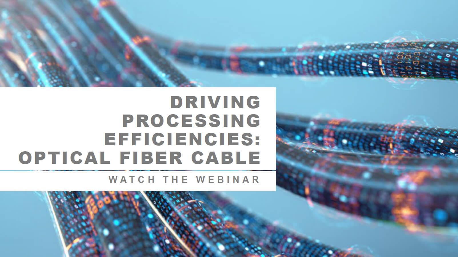 Optical Fiber Webinar