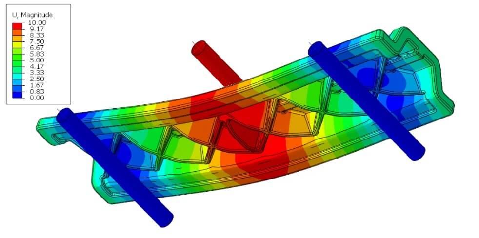 Moldflow graphic