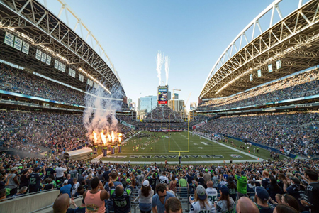 How The Nfl S Seahawks Surprise And Delight Fans With In Venue Tech Extreme Networks