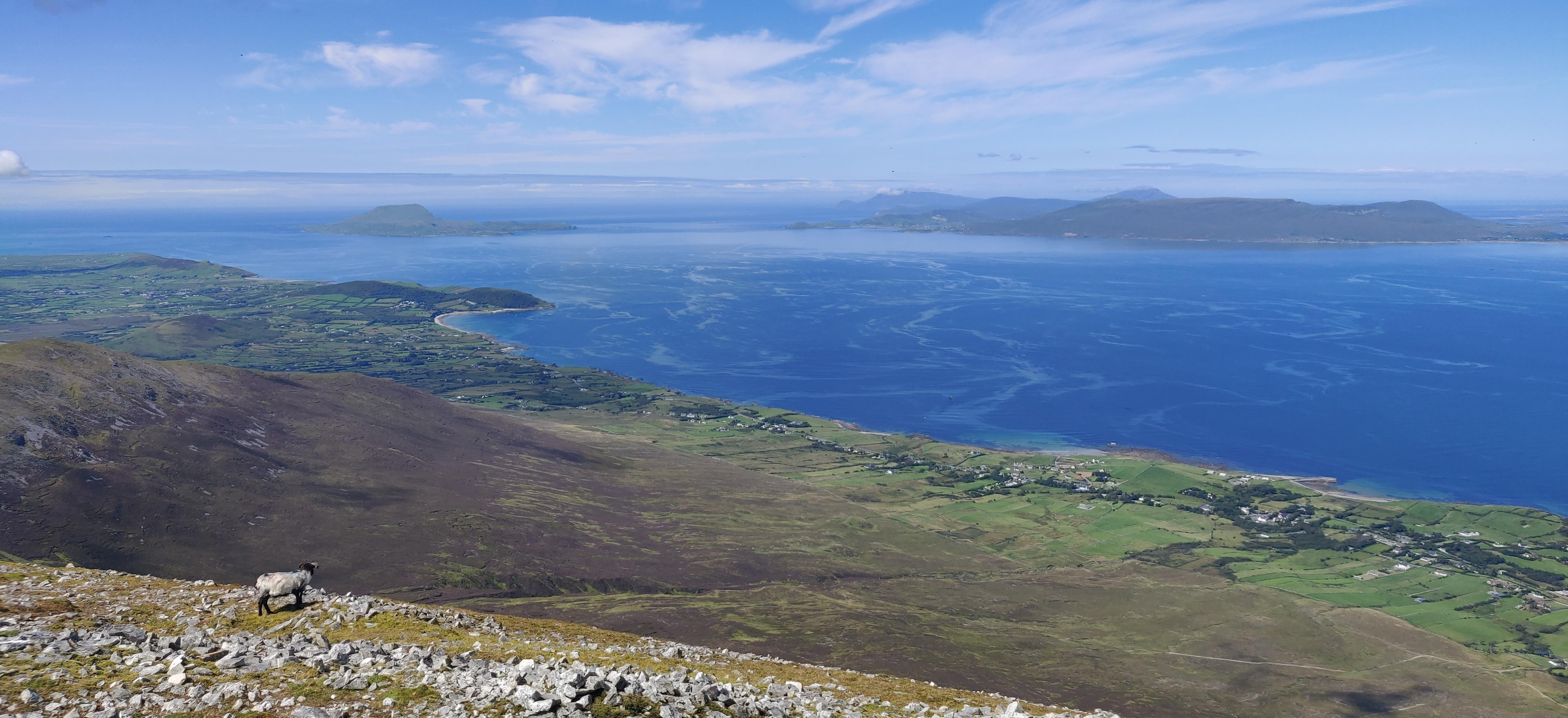 Clew Bay in Ireland.
