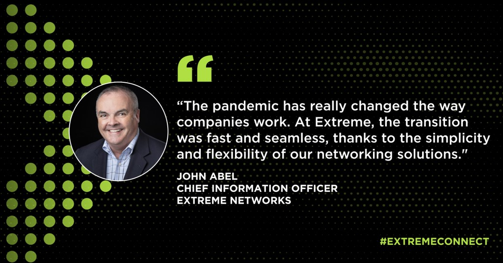 """John Abel - """"The Pandemic has really changed the way companies work..."""""""
