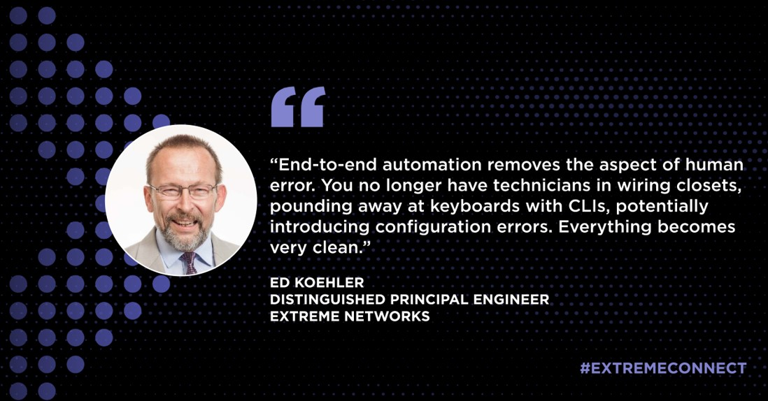 Ed Koehler on end-to-end automation
